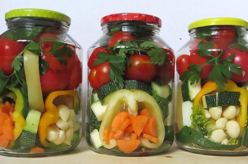 Готовимся к зиме: вкусное овощное ассорти