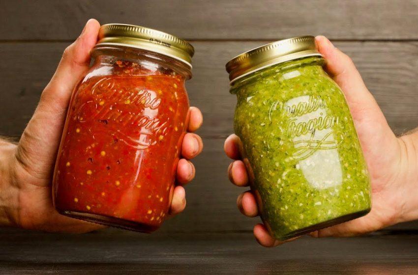 Заготовки на зиму: вам красную или зеленую?