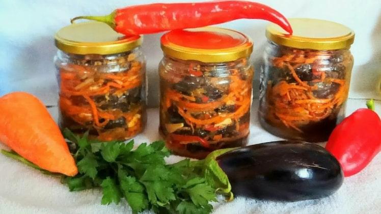 «Счастливый» желудок или вкуснейшие баклажаны по-корейски