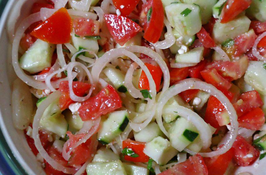 5 идей вкусных и простых салатов из овощей. Кушайте и худейте