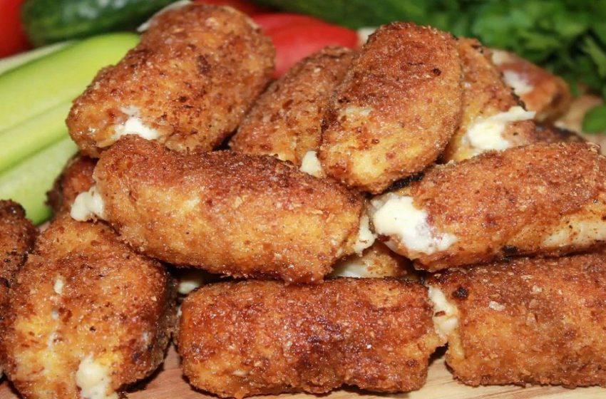 Грецкие орехи, куриное филе и плавленый сыр: вкусное блюдо
