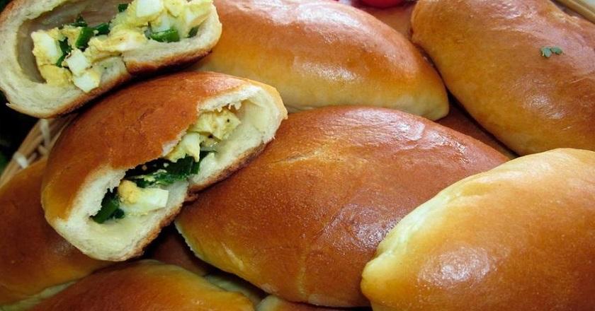 Рецепт вкусных домашних пирожков с творогом и зеленью