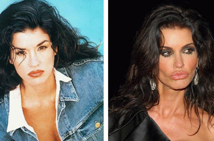 «Из красавицы в пугало»: модель 90-х Дженис Дикинсон испортила свою внешность пластикой
