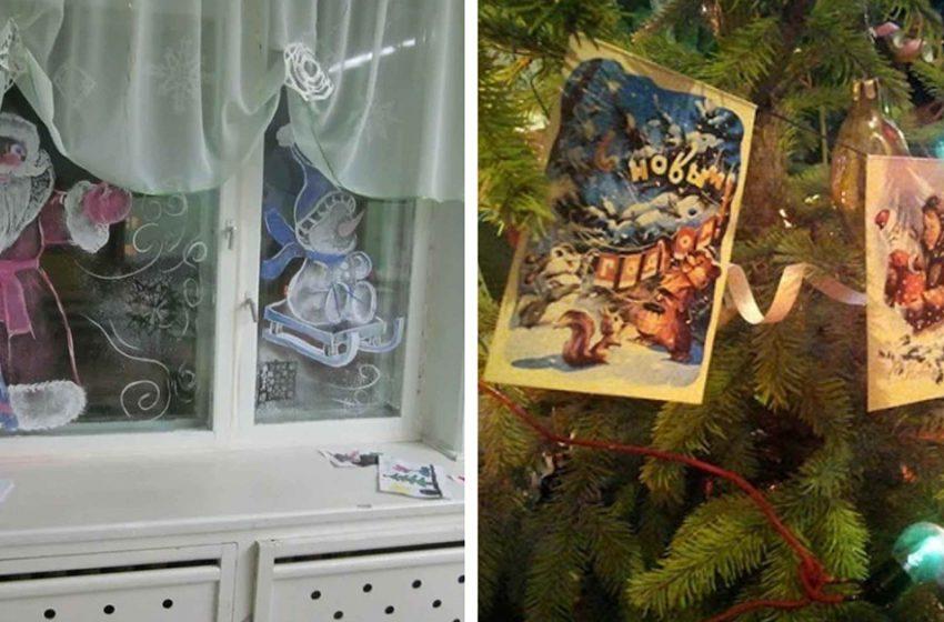 «Бумажные флажки, снежинки на окнах»: как украшали советский дом к Новому году