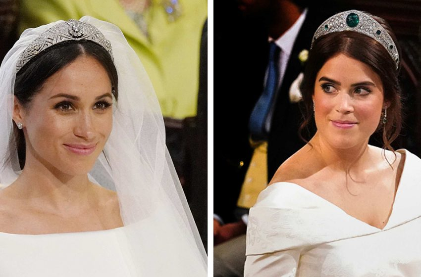 «Больше драгоценностей»: свадебные тиары королевских невест