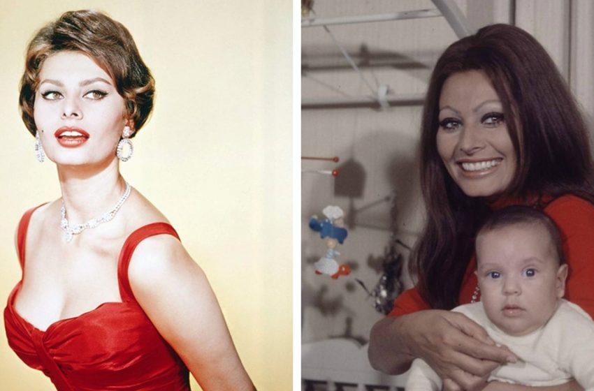 «Самая красивая женщина 20 века»: как сейчас выглядят и чем занимаются дети Софи Лорен