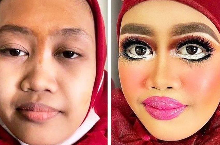 16 примеров макияжа, на которые «без слез не взглянешь»